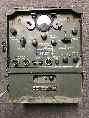 US Navy Marine Corp Navajo Code Talkers TBY Radio Set with Rare Power SupplyBox!