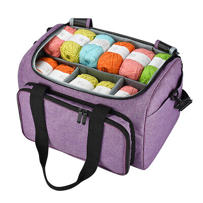 Yarn Storage Bag Handbags Yarn Crochet Knitting Accessory Organizer Crochet B TS