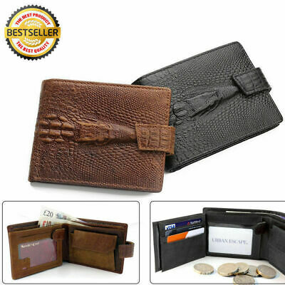 NEW Mens Leather Holder Purse Dragon AU Luxury Card Wallet Credit Brown Quality