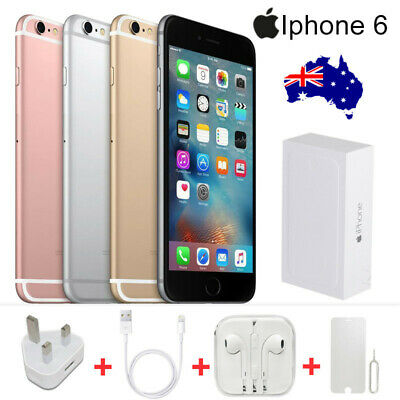 Apple iPhone 6 16GB 64GB 100% Genuine and 100% New Factory Unlocked Smartphone