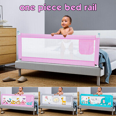 1.5M/1.8M/2M Kid Child Bedguard Toddler Safety Guard Rail Bed Rail Folding Sleep