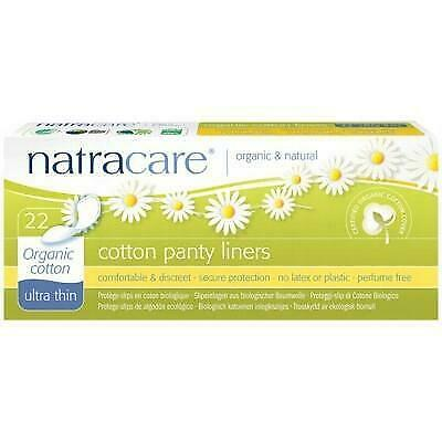 NATRACARE Organic Panty Liners Ultra Thin 22 Liners