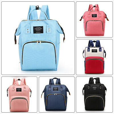 New Mummy Backpack Baby Diaper Multifunctional Mommy Bags Nappy Travel Bags Hot
