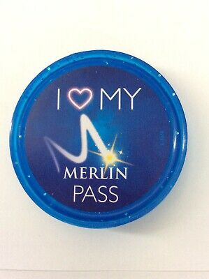 Merlin Annual Pass Holder Pop Badge 2019