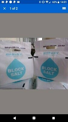 Harveys block salt 10 packs free delivery local to HA8 postcode. Message for inf