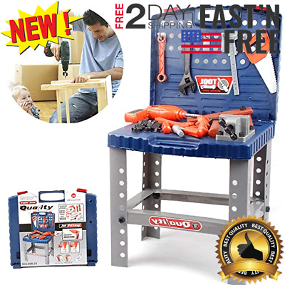 Outstanding Toy Tool Set Workbench Construction Workshop Kids Pretend Pabps2019 Chair Design Images Pabps2019Com