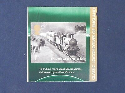 2011 Gb Great Britain Sg3215 Classic Locomotives Booklet Stamp Unmounted Mint