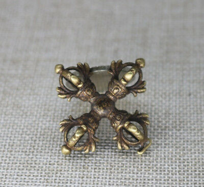 Collection old Asian Pure brass exorcism small pendant A