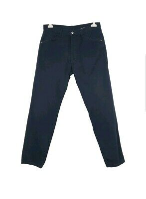 a3fc021f43 PANTALONI VERSACE JEANS Trouser Cotone MADE IN ITALY Uomo Blu ...