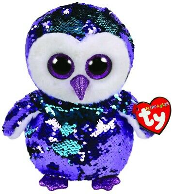 NEW Beanie Boo Med Sequin - Moonlight from Mr Toys
