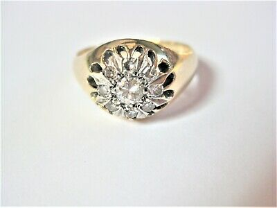 Ring Gold 585 mit Diamanten, 5,33 g