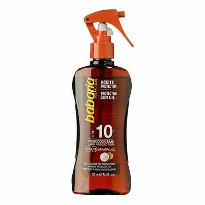 S0560692 106446 Huile Solaire Babaria Spf 10 (200 ml)