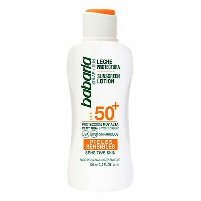 S0560701 111679 Lait solaire Babaria Spf 50 (100 ml)