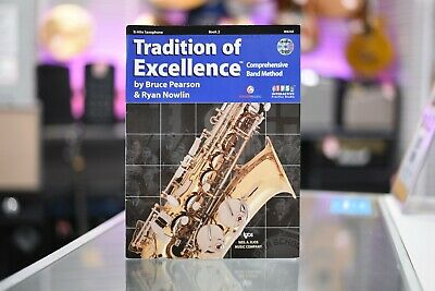 Tradition of Excellence Comprehensive Band Method Alto Saxophone (Book 2)
