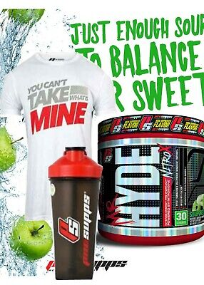 ProSupps Mr Hyde Pre Workout NITRO X - & T SHIRT & SHAKER STACK! OFFER