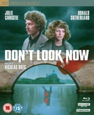 Don't Look Now Dont Collectors Edition New 4K Ultra HD Region B Blu-ray + CD