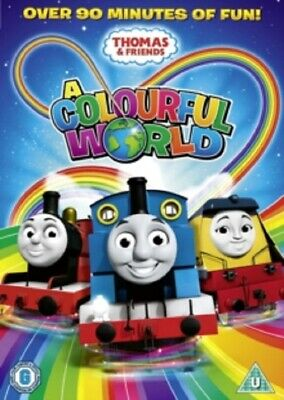 Thomas & Friends A Colourful World And New DVD