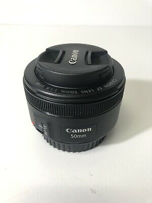 Canon EF 50mm f/1.8 STM Lens - Mint Condition