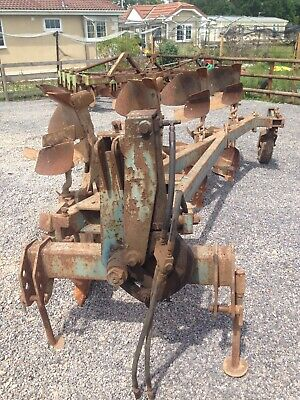 Ransom TSR109 4 Furrow Reversible Plough with UCN bodies NO VAT
