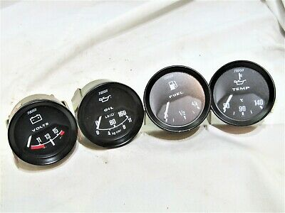 Classic Tudor Smiths Gauge Set Fits Morgan  Tvr Land Rover Rally Car Kit Car