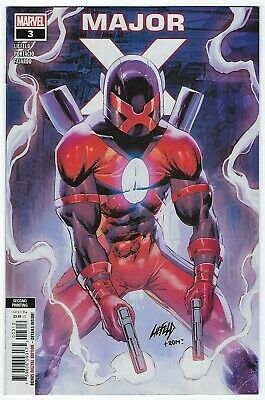 Marvel 2019 2nd Printing Liefeld Variant Major X #5
