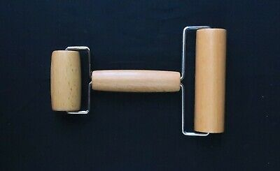 Wooden Roller Dual Roller Tool for Ceramic and Pottery Clay Working