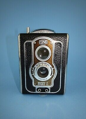 Ising Pucky I twin lens camera from the early 1950s in very good condition.