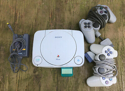 Sony PS One SCPH-101 Game Console with Controllers playstation ps1 psone