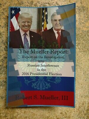 Report On The Investigation Into Russian Paperback by Robert S. Mueller III