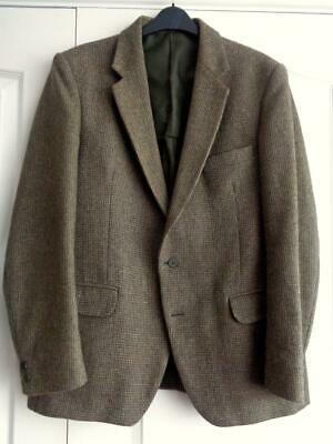 Vintage HEPWORTHS HARDY AMIES tweed WOOL JACKET BLAZER Wedding Races Goodwood