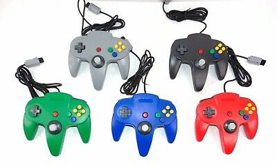 N64 Controller Joystick Gamepad Long Wired for classic Nintendo 64 Video Games