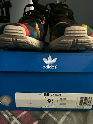 *USED* Adidas ZX Flux S81561 Mens Sz. 9.5