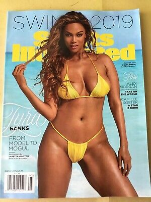 Sports Illustrated Swimsuit Edition 2019. New Retail Issue. Tyra Banks Cover. SI