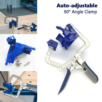 Furniture 90 Degree Right Angle Corner Clamp Woodworking Hand Tool Adjustable