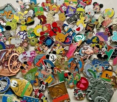 50% off Disney trading lot of 500+50_Assorted pins 3D LE-Hidden mickey DHL ship