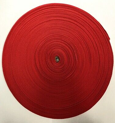 25mm Webbing - 45 Metres (Red)