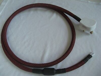 Fig 8 C7 mains power cable - Audiophile High End Hifi quality - 1.5M