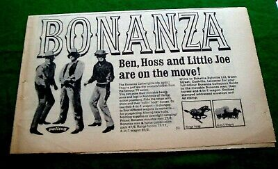 1cc86f8cb BONANZA LITTLE JOE Cartwright Michael Landon Stetson Western Cowboy ...