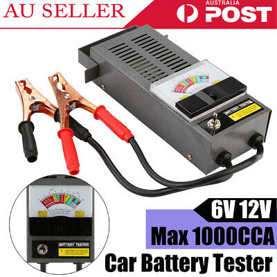 Digital Car Battery Analyzer 6V 12V 1000CCA Automotive Battery Load Tester HOT