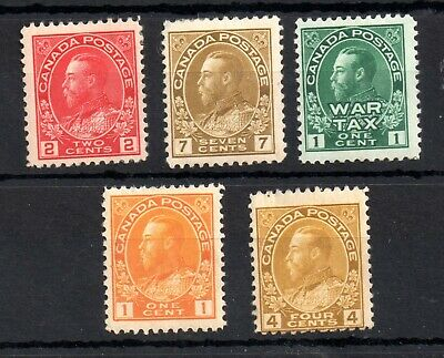 Canada KGV 1911-1922 mint MH collection Cat Val £60 WS14288