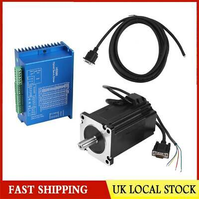 HSS86 Hybrid Servo Driver + NEMA34 Closed-Loop High Speed Stepper Servo Motor UK