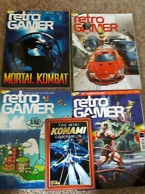 RETRO GAMER MAGAZINE 127-140 and Games TM Magazine 2-20 & 73