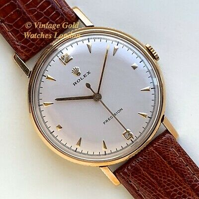 Rolex Precision 'Coin Edge', 9Ct, 1959 - Highly Collectable And Immaculate!
