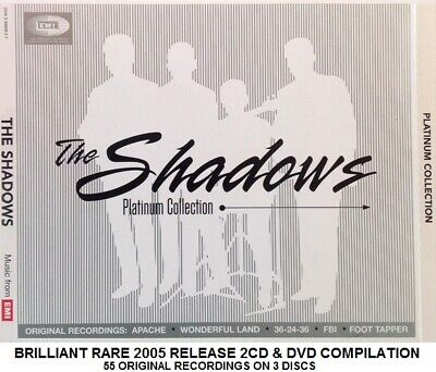 The Shadows Very Best Greatest Hits Collection RARE 2CD DVD Hank Marvin Guitar