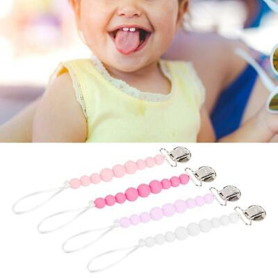 4Colors Baby Suspender Soother Pacifier Clip Dummy Clips Anti-lost Portable