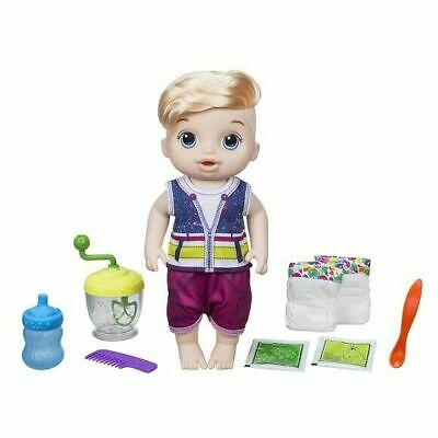 Baby Alive Sweet Spoonfuls Baby Boy, Blonde Straight Hair