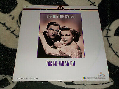 For Me And My Gal Laserdisc LD Gene Kelly Judy Garland Free Ship $30 Orders