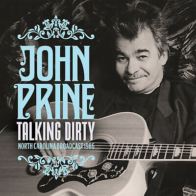 JOHN PRINE New Sealed 2019 LIVE 1986 NORTH CAROLINA CONCERT CD