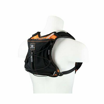 Orange Mud Gear Vest Pro Black Orange Trinkrucksack Trinksystem Trinkweste