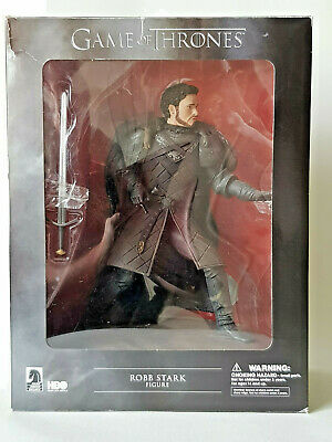 GAME OF THRONES Robb Stark Dark Horse Deluxe Figure BOXED MINT CONDITION